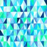 Abstract mosaic vitrage pattern vector illustration