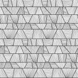 Abstract mosaic wavy Pattern. Seamless vector. Stock Photography