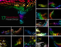Abstract Mosiac Background Stock Images