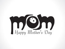 Abstract mother day background. Vector illustration Stock Images