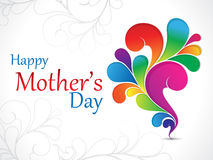 Abstract mother day background. Vector illustration Royalty Free Stock Photos