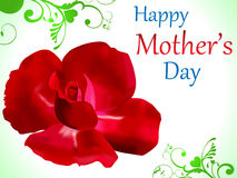 Abstract mother day background. Vector illustration Stock Photo