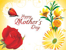Abstract mother day background Royalty Free Stock Image