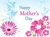 Abstract mother's day background Stock Photos