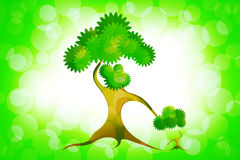 Abstract mother tree Royalty Free Stock Photos