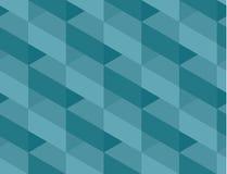 Abstract motief marien blauw kleuren abstract conceptontwerp Royalty-vrije Stock Fotografie