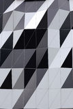 Abstract motifs of the building wall. Stock Photos