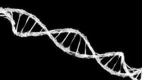 Abstract Motion Background - Digital Plexus DNA molecule 4k Loop Alpha Matte stock video