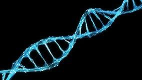 Abstract Motion Background - Digital Plexus DNA molecule 4k Loop Alpha Matte stock footage