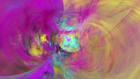Abstract motion background with alpha channel, loopable royalty free illustration