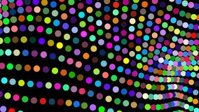 Abstract motion background, shining lights, energy waves and particles, seamless loop able. stock video