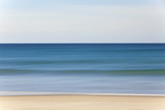 Abstract Motion Blur Beach and Sea Background Royalty Free Stock Photography