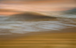 Abstract motion blur. At the beach, sea side Royalty Free Stock Image