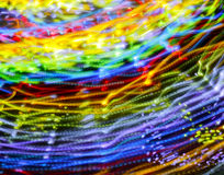 Abstract Motion Blur Carnival Ride Royalty Free Stock Image