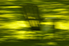 Abstract Motion Blur Lawn Chair Stock Photos