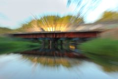 Abstract motion blur Stock Photo