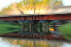 Abstract motion blur Stock Image
