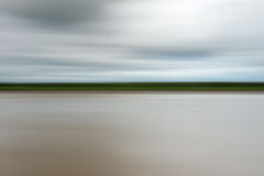 Abstract motion blur. River, nature background Royalty Free Stock Image