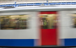 Abstract motion blur of train Royalty Free Stock Image