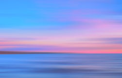 Abstract motion blurred colored sea background Royalty Free Stock Images