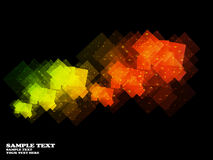 Abstract motion graphic background. Illustration Royalty Free Stock Photo