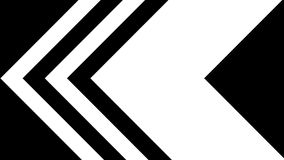 Abstract motion graphics and animated background of black and white triangle and line motion.  stock footage