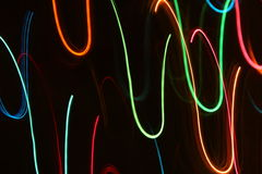 Abstract Motion Lights Royalty Free Stock Photos