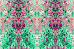 Abstract motley and colorful pattern. Oil painting on canvas. Abstract motley and colorful pattern. Fabulous flowers and plants. Embossed texture of oil paint vector illustration