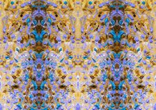 Abstract motley and colorful pattern. Oil painting on canvas. Abstract motley and colorful pattern. Solar Spray. Embossed texture of oil paint. Atmosphere of royalty free illustration