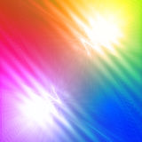 Abstract motley rainbow background with shining lines and waves Royalty Free Stock Image