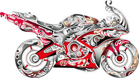 Abstract Motorbike Royalty Free Stock Photos
