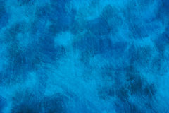 Abstract mottled blue background Stock Photography