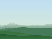 Abstract Mountain Landscape royalty free illustration