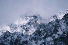 Abstract mountain range Stock Image