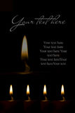 Abstract mourning card Stock Photography