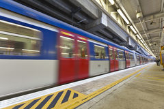 Abstract movement of train, blurred motion. Stock Photography