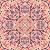Abstract mozaïek etnisch naadloos vectorpatroon Royalty-vrije Stock Foto