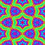 Abstract mozaïek kleurrijk patroon Het bloemenspectrum van de regenboogkleur Veelkleurige textuurachtergrond Naadloze vector Stock Foto's