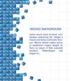 Abstract mozaïekmalplaatje als achtergrond, eps10-vector Stock Foto's