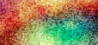 Abstract mulicolor background with circles shapes Stock Photography