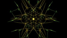 Abstract multi-color background. Creative digital art. Silk symmetry series royalty free illustration