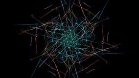 Abstract multi-color background. Creative digital art. Silk symmetry series stock illustration
