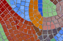 Abstract multi color mosaic bacground. Close-up of abstract multi color mosaic bacground Royalty Free Stock Image