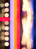 Abstract multi-colored bokeh photography Royalty Free Stock Photos
