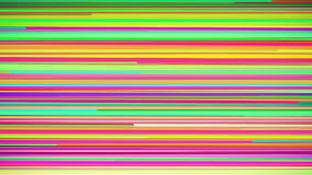 Abstract Multi Colored Horizontal Stripe Background Loop stock video footage