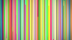 Abstract Multi Colored Vertical Stripe Background Loop stock footage
