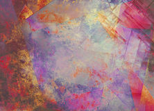 Abstract. Multi hued highly textured Painting Royalty Free Stock Images