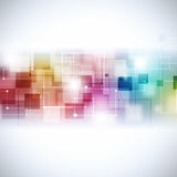 Abstract Multicolor Communication Background Stock Images