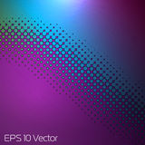 Abstract Multicolor Dots Background. EPS 10 file included stock illustration