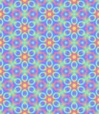 Abstract multicolor floral pattern, Colorful tile texture background, Rainbow colored seamless illustration Royalty Free Stock Images